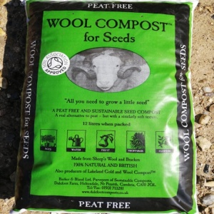 Dalesfoot Peat Free Wool Compost for Seeds